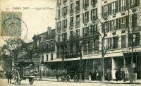 1905 – Bureaux Nozal, quai de Passy