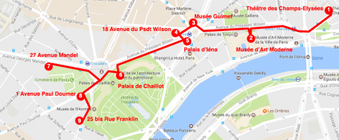 """Parcours """"Guimard et ses contemporains"""""""