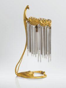 Lampe à poser, vente Sotheby's Paris, 16 février 2013.