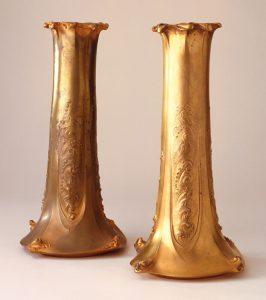 Guimard vase cooper-H 02