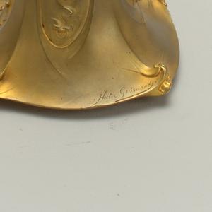 Guimard vase cooper-H 03