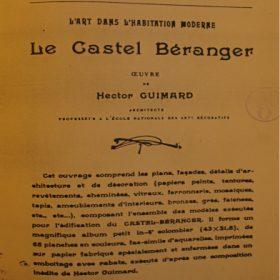 Guimard album castel Beranger 18