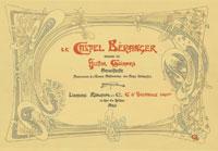 Hector Guimard - Le Castel Béranger - album