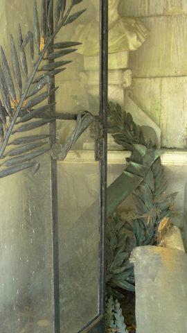 État actuel de l'intérieur du monument.