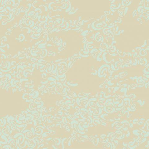 Réédition d'un papier peint d'Hector Guimard