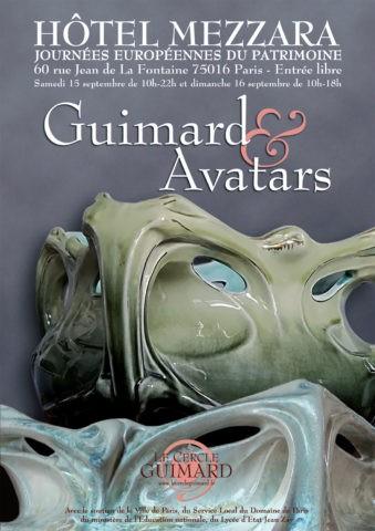 Exposition Guiimard et avatars à l'hôtel Mezzara