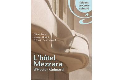 Le livre sur l'hôtel Mezzara disponible en librairie