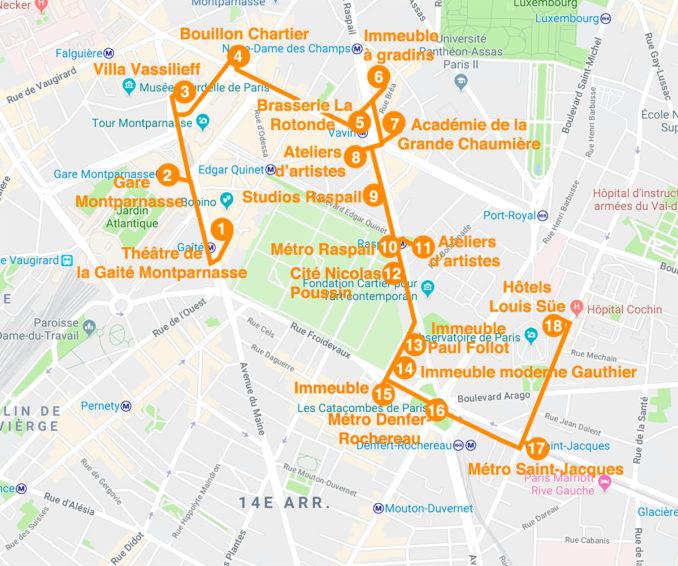 """Nouvelle date - Parcours """"Montparnasse 1900 et l'architecture des ateliers d'artistes"""" le dimanche 25 novembre 2018"""