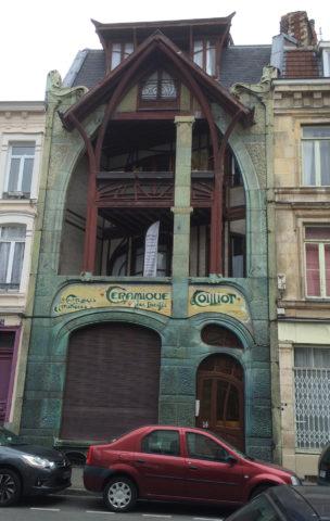 La maison du céramiste Louis Coilliot, à Lille, signée Hector Guimard (1898)