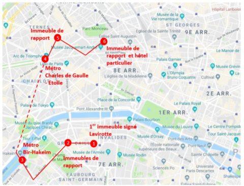 """Nouveau parcours de visite : """"Oeuvres de Jules Lavirotte, dans les 7ème et 8ème arrondissements"""" - Dimanche 26 mai à 14h"""