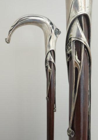 la canne personnelle d'Hector Guimard, qui sera exposée à Chicago puis à New York. (Collection privée)
