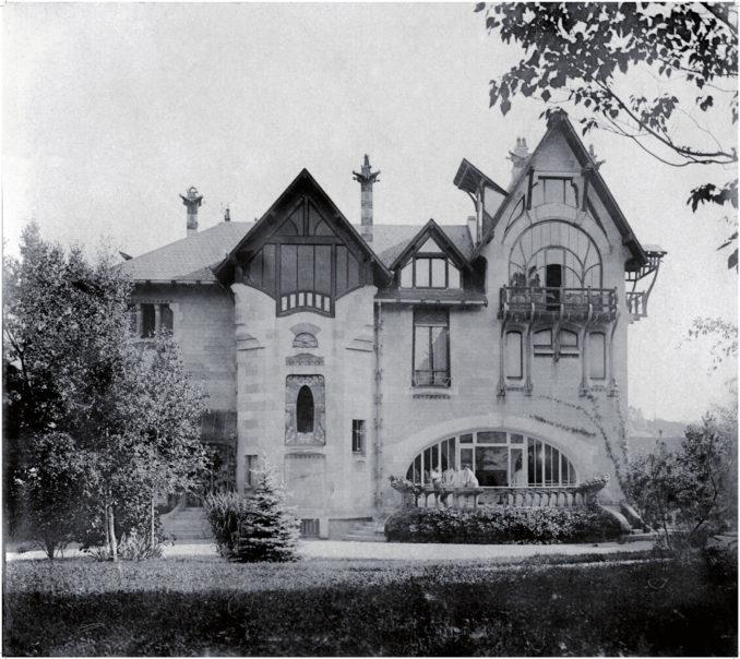 Photo provenant le l'album de Jacques Majorelle ; Musée de l'Ecole de Nancy
