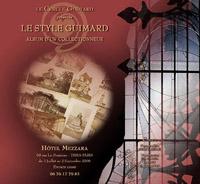 Exposition « Le Style Guimard, Album d'un collectionneur »