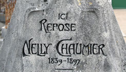 Hector Guimard - tombe Nelly Chaumier