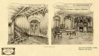 1904 – Projets d'aménagements du Castel d'Orgeval (coll. part.)