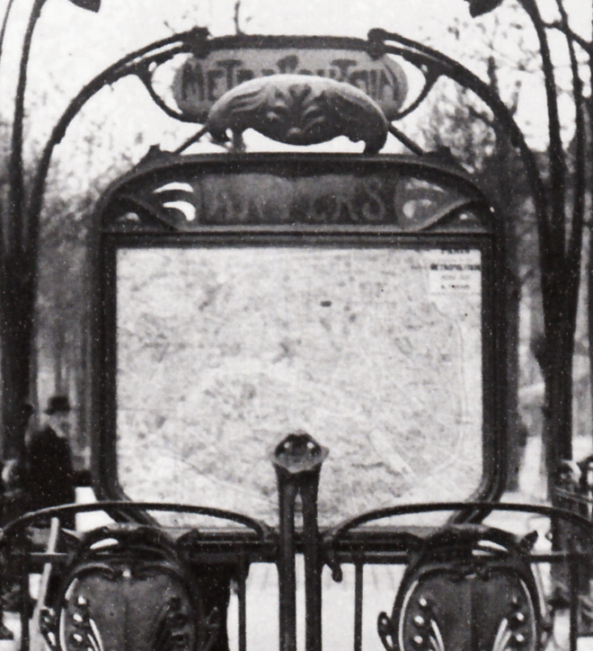 Station Anvers, 1913 ou postérieure. Coll. part. (détail).