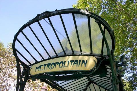 Métropolitain d'Hector Guimard - Edicule de la station Abesses