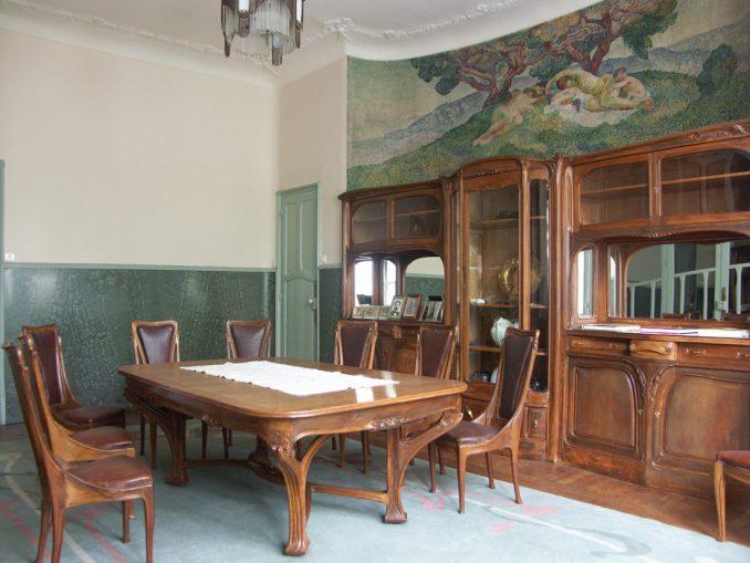Hector Guimard - Hôtel Mezzara - salon