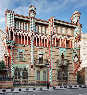 La Casa Vicens de Gaudì à Barcelone