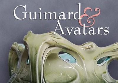 """Exposition """"Guimard & Avatars"""" à l'hôtel Mezzara"""